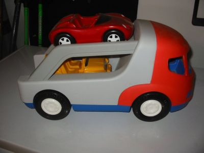 Little Tikes Car Hauler with 2 cars. $7