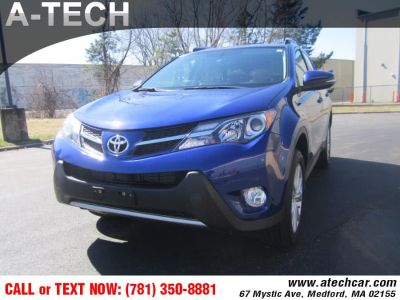 2015 Toyota RAV4 AWD 4dr Limited (Natl) (Blue Crush Metallic)