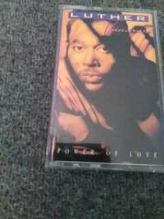 Luther Vandross cassette