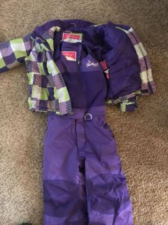 3T snow pants and winter coat
