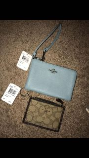 Coach wristlets New with tags