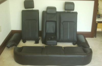 Purchase 2010 2011 2012 LINCOLN MKZ COMPLETE REAR SEAT SET (FUSION UPGRADE) motorcycle in Dunnellon, Florida, United States