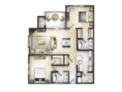 The Residences at the Manor Apartments - Two BR Two BA Baker II Chestnut