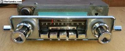 6 V Radio to 12 V upgrade with optional Bluetooth