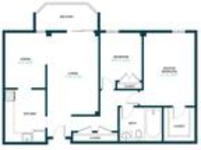 Circle Towers - 2 BR 1 BA