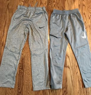 Boys Nike XL Athletic Pants Lot (2 Pairs) - Excellent Condition, Like New - 83rd & K7, XP