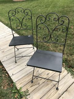 Steel Porch Chairs