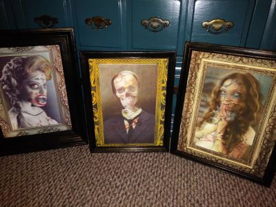 Lenticular picture in frames