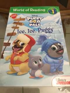 NWT! Level 1 Reader! Disney! Puppy Dog Pals! Ice, Ice, Peggy Children s Book! NS Meet AB Park or PPU