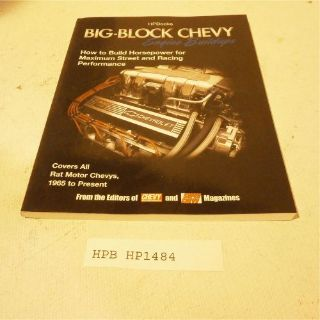 Purchase HP Books HP1484 Reference Book Big-Block Chevy Engine Buildups motorcycle in Decatur, Georgia, United States, for US $15.98