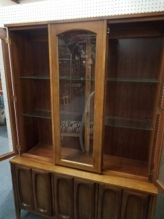 Must Sell vintage mid century China cabinet
