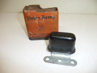 Sell NOS 1938-55 Delco Remy 1116775 3 Hole Bracket Horn Relay 1953-55 Corvette motorcycle in Livonia, Michigan, United States, for US $89.99