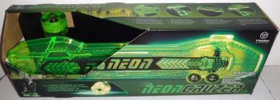 New! Yvolution Neon Green Cruzer Skateboard LED Lights Ages: 5 & Up
