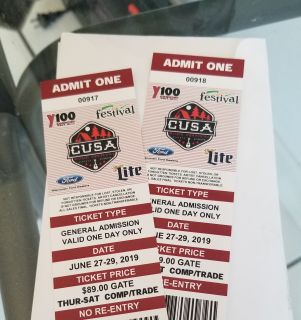 CUSA 2019 tickets