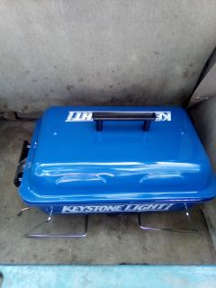 Keystone light propane grill