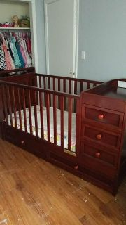 Crib and changing station