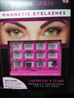 New in box magnetic Lashes.