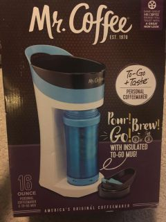 Mr. Coffee 16 ounce personal coffee maker