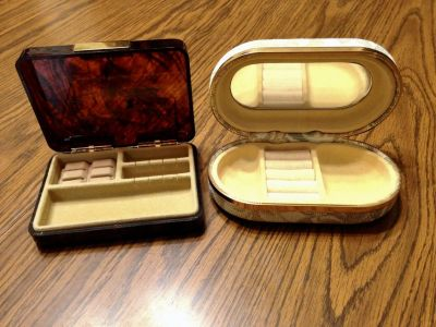 Mini Jewelry Boxes for traveling