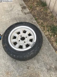 14 inch vw 4 lug wheel