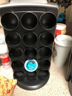 Kuerig k cup stand