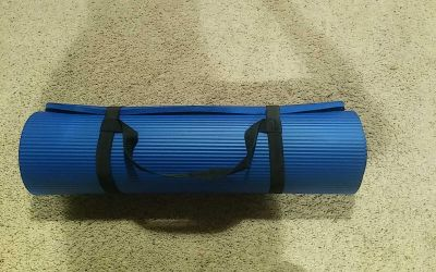 EUC Yoga Mat with Carrying Strap