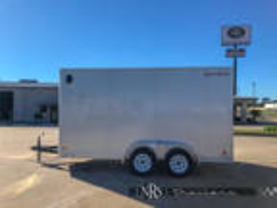 7x14 Enclosed Bumper Pull Trailer with Extra HeightWells Cargo