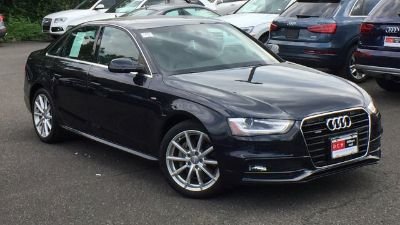 2016 Audi A4 2.0T quattro Premium (Moonlight Blue Metallic)