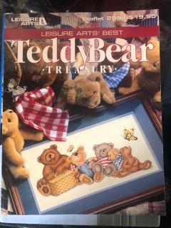 Teddy Bear cross stitch book