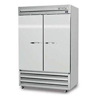 Reach In Freezer Stainless Steel 2 Door Like New