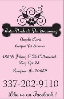 grooming appointments available