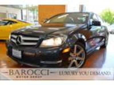2013 Mercedes-Benz C-Class C 250 2dr Coupe Gray, BACKUP CAMERA, NAVI, LEATHER