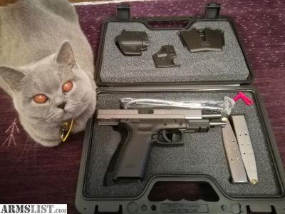 For Sale: Stainless XD .45 ACP tactical