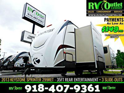 2013 Thor Motor Coach Sprinter RV 299RET