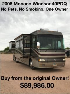 Buy from the Owner - 2006 Monaco Windsor 40PDQ
