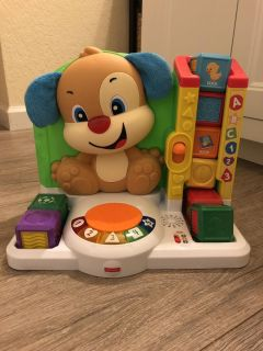 Fisher price laugh & learn smart puppy. Practically brand new.