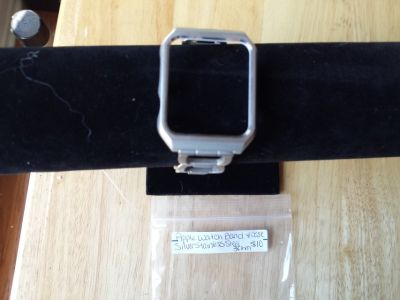 Apple Watch band and case silver stainless steel 38mm