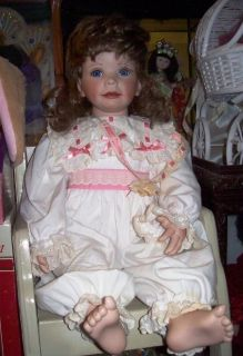 Breeana Antique 22 Limited Edition Porcelain Laura Cababe Doll