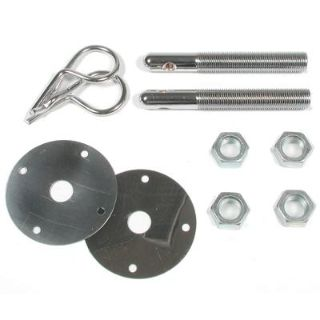 "Sell Mr. Gasket 9655 Hood Pin Kit Chrome 1/2"" Steel Hairpin Style motorcycle in Suitland, Maryland, US, for US $15.83"