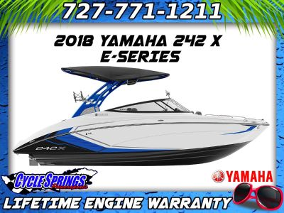 2018 Yamaha 242X E-Series Jet Boats Clearwater, FL
