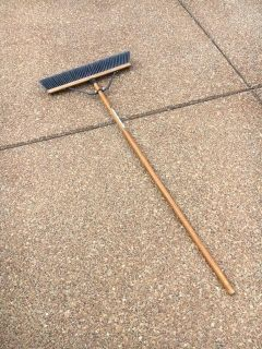 Quickie Contractor's Push Broom