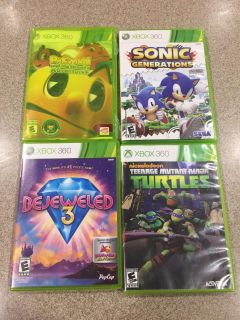 Xbox 360 games - 4 total