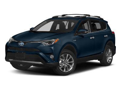2018 Toyota RAV4 Hybrid Limited AWD (Galactic Aqua Mica)