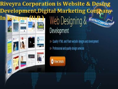 Best website design,web development | Digital Marketing | SEO Company In Kanpur | riveyracorp.com