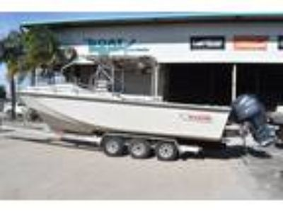 1986 Boston Whaler 27 Cuddy Cabin