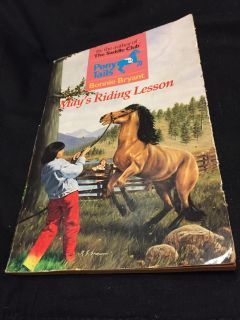May's riding lesson book