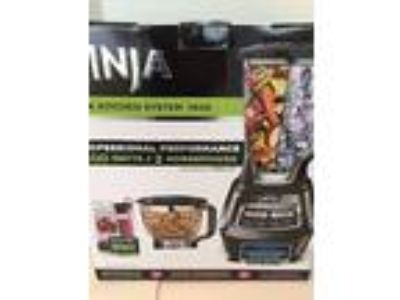 NIB Ninja Mega Kitchen System 1500 2 HP Food Proc Blender