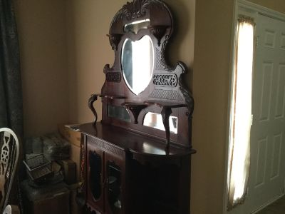 Early 1900 s Curio Cabinet