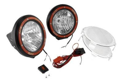 Purchase Rugged Ridge 15205.54 - Off Road Black HID Fog Light Kit 1 Pc motorcycle in Suwanee, Georgia, US, for US $308.33