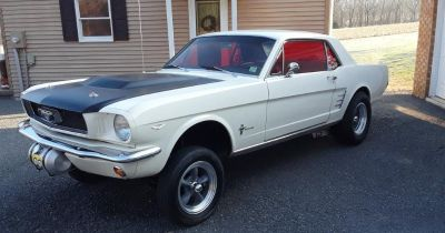 1966 Ford Mustang may trade for finished street rod